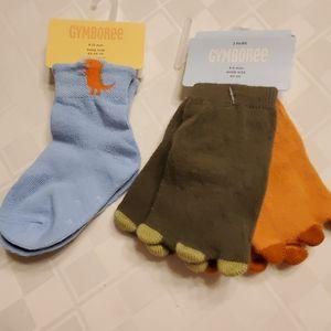 3-pr Gymboree socks, NWT